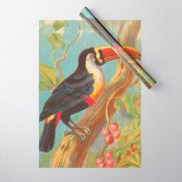 Toco Toucan Birds of the Tropics Series by A&G Wrapping Paper