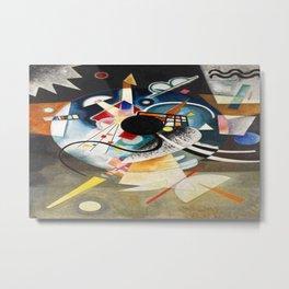 A Center - Wassily Kandinsky Metal Print