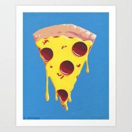 Give Me A Pizza Your Mind Art Print