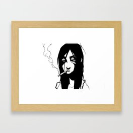 WTF?! Framed Art Print