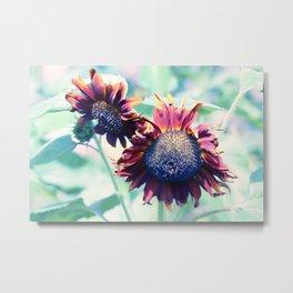 Soul Garden Flowers Metal Print