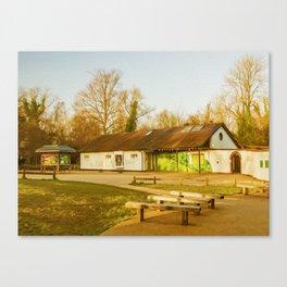 Cafe Box Hill Surrey Canvas Print