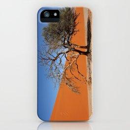 NAMIBIA ... Namib Desert Tree IV iPhone Case