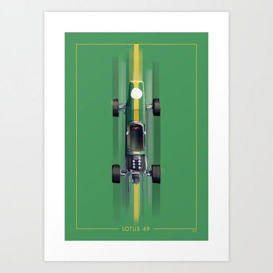 Lotus 49 Art Print