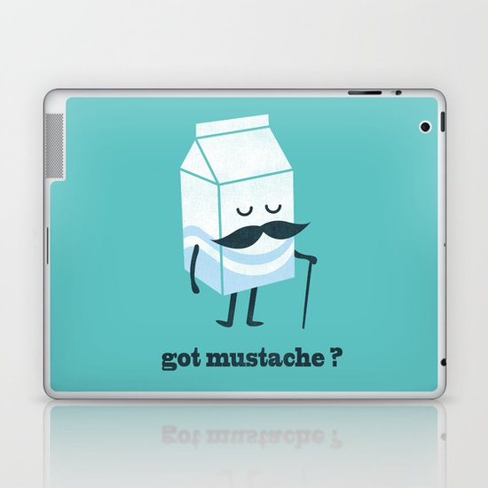 Got mustache? Laptop & iPad Skin