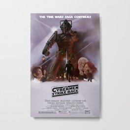 Doctor Who - Time Wars: The Cybermen Strike Back Metal Print