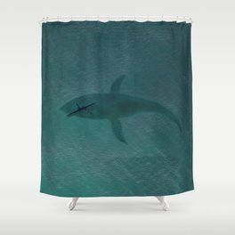 Close Encounters Of The Sea Shower Curtain