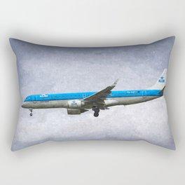 KlM Embraer 190 Art Rectangular Pillow