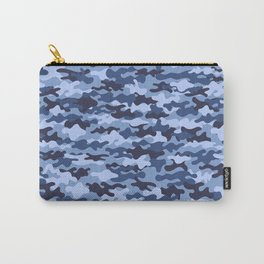 Urban Blue Camo Carry-All Pouch