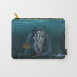 Fantasy style Anime / Manga mermaids Carry-All Pouch