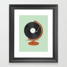 World Record Framed Art Print