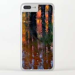 New Hampshire Deep Forest Clear iPhone Case