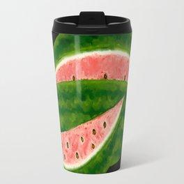 American Folk Art Watermelon Travel Mug