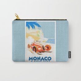 Grand Prix Monaco 1937 Carry-All Pouch