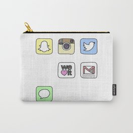 iPhone Icons Carry-All Pouch