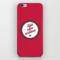 hiphop iPhone & iPod Skins featuring HIPHOP ANTHEM : From Pens To Pads To Technics by Lbert