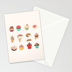 Desserts Stationery Cards