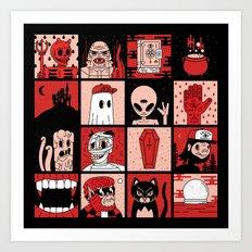 DEAD AF Art Print