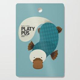 Hello Platypus Cutting Board
