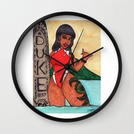 Wailana after work Wall Clock