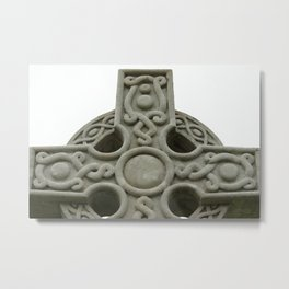 Cross In Redbrook Metal Print