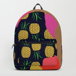 Pineapple Bawse Babe (Blue) Backpack