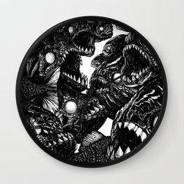 The Riot : Piranhas Wall Clock