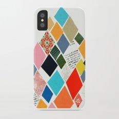White Mountain iPhone X Slim Case