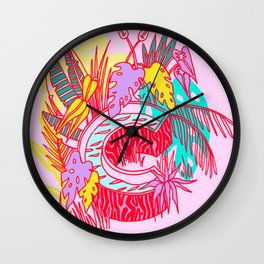 Jungle Fever C Wall Clock