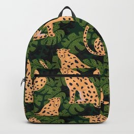 Cheetah Pattern Backpack