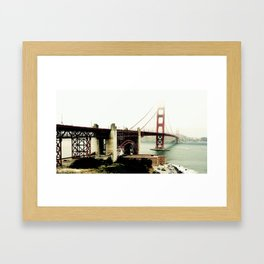 Bay Bridge Framed Art Print