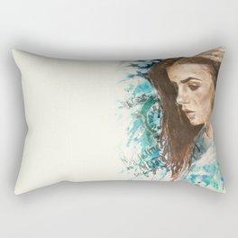 My name is not 'little girl' Rectangular Pillow