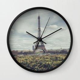 Eiffel Paris Wall Clock