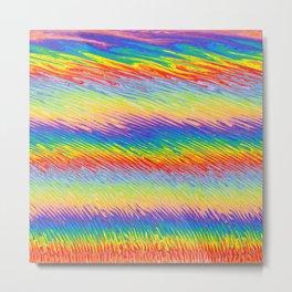 Bleeding Colors  Metal Print