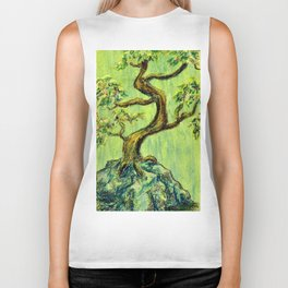 Teal Bonsai Biker Tank