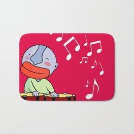 Let's play bongos Bath Mat