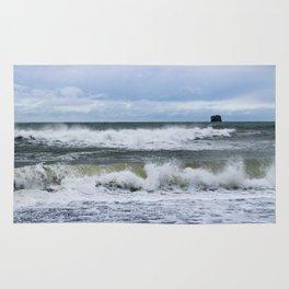Waves at Rialto Beach Rug