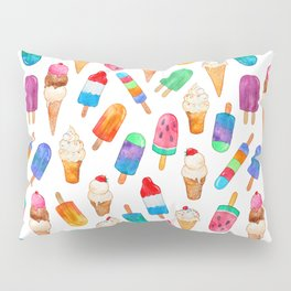 Summer Pops and Ice Cream Dreams Pillow Sham