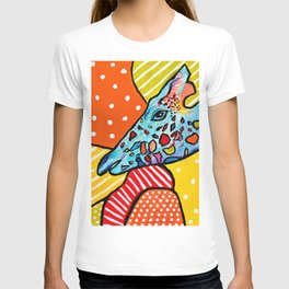 Colorful Giraffe T-shirt