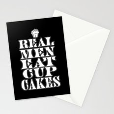 Real Men Eat Cupcakes Stationery Cards