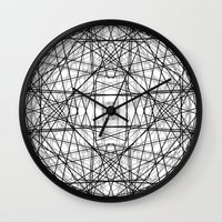 code Wall Clocks featuring Code 2 by Dood_L