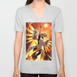 mercy watch Unisex V-Neck
