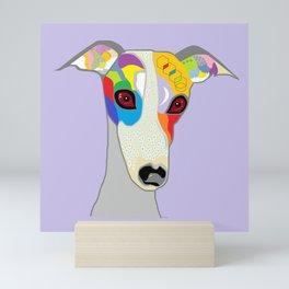 Whippet Mini Art Print