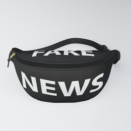 Fake News (White Text) Fanny Pack