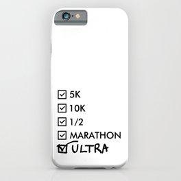 Ultra Marathon Running iPhone Case