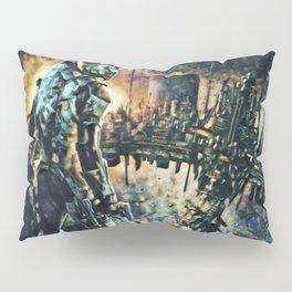 Dead Space Defensive Isaac Artistic Illustration Space Style Pillow Sham