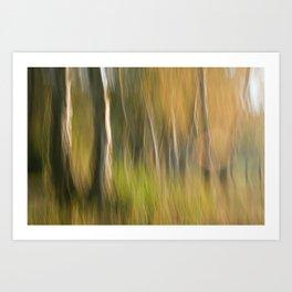 COUPLE OF TREES Art Print