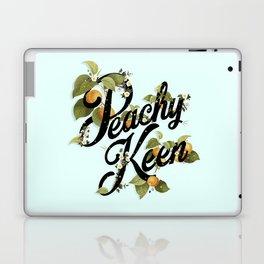 Peachy Keen : Mint Laptop & iPad Skin