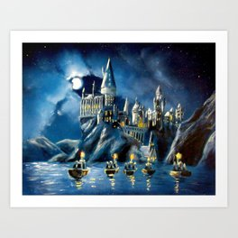 Moonlit Magic Art Print