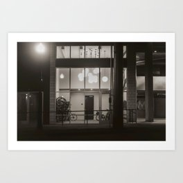 Bicycle Storage Art Print